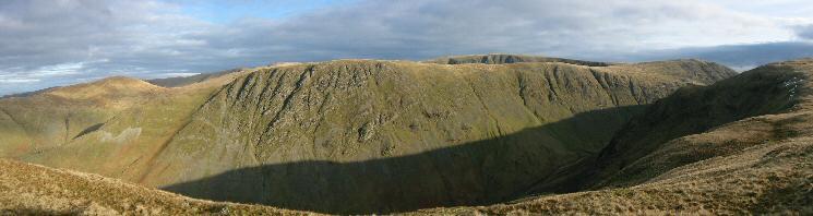 Gray Crag from the ridge to Hartsop Dodd