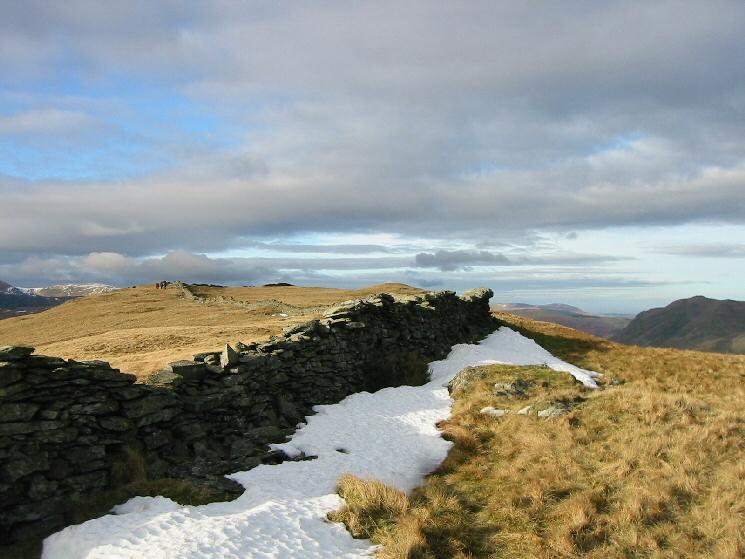 The ridge to Hartsop Dodd