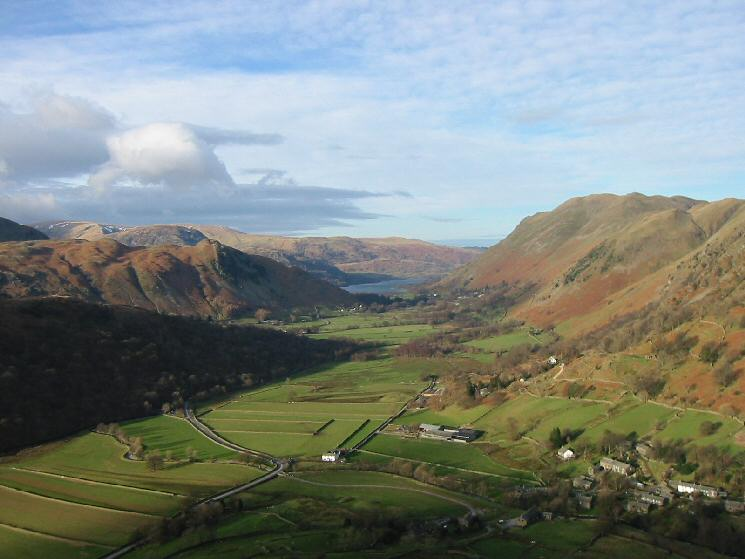 The view north to Ullswater from the descent off Hartsop Dodd