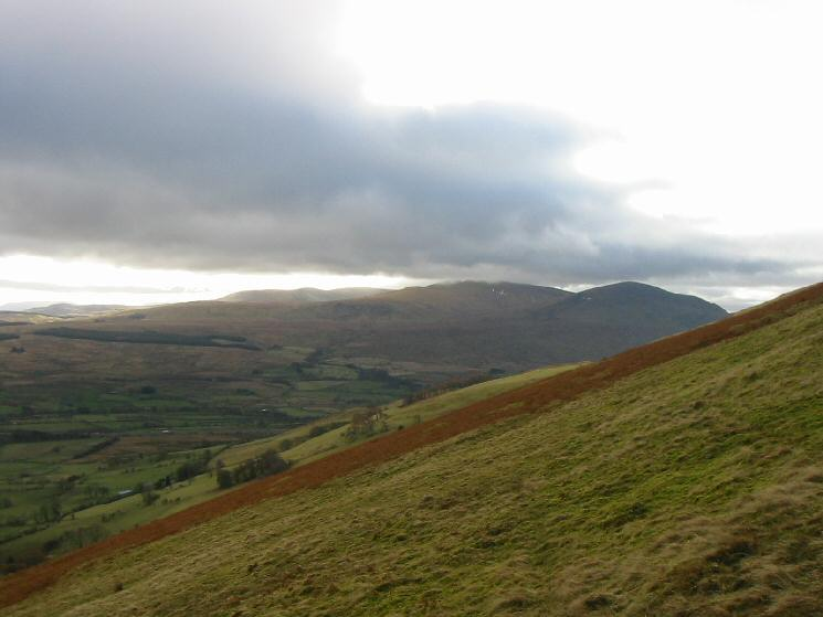 Looking south to Great Dodd and Clough Head