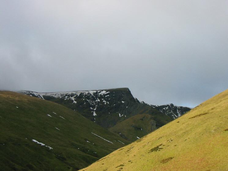 Sharp Edge and Foule Crag, Blencathra