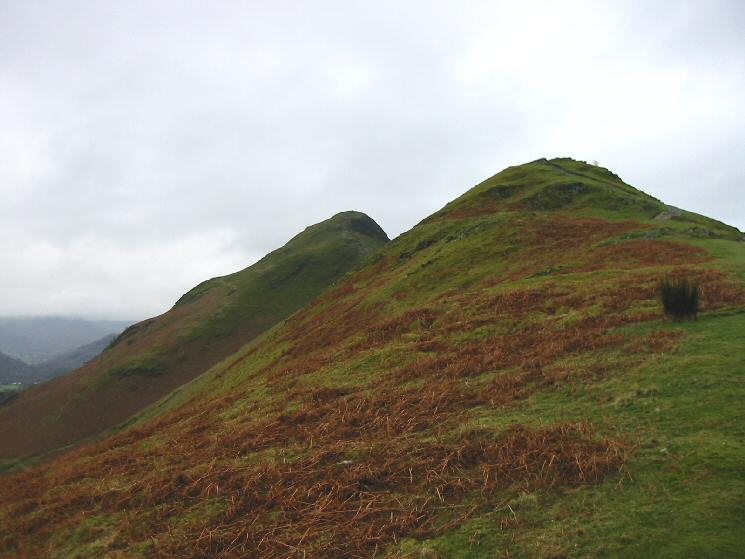 Skelgill Bank with Catbells beyond
