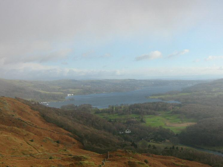 Windermere from Ivy Crag