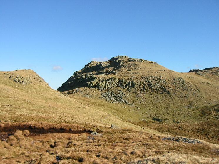 Bessyboot (Rosthwaite Fell) from near Tarn at Leaves
