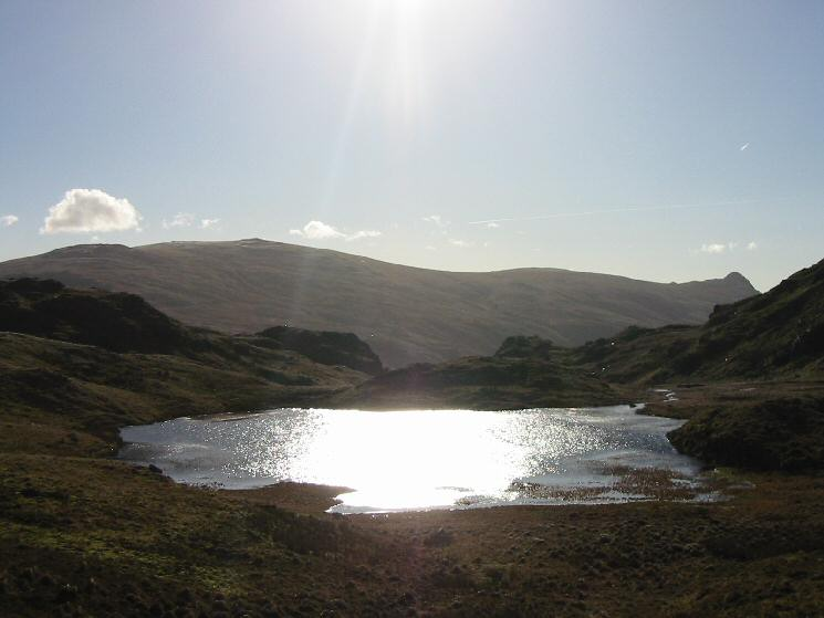 Tarn at Leaves with High Raise and Pike o' Stickle behind