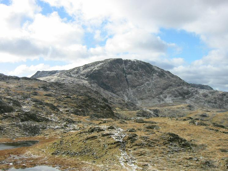 Great End from the Glaramara to Allen Crags ridge