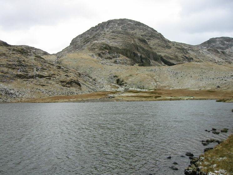 Great End from Styhead Tarn