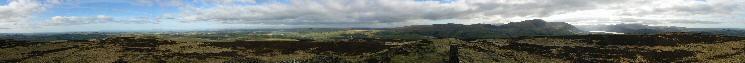 360 Panorama from Binsey's summit