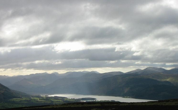 Bassenthwaite Lake and the northwestern fells