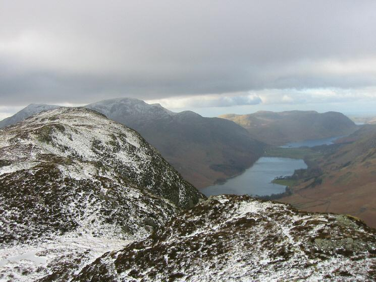 Fleetwith Pike, Buttermere and Crummock Water