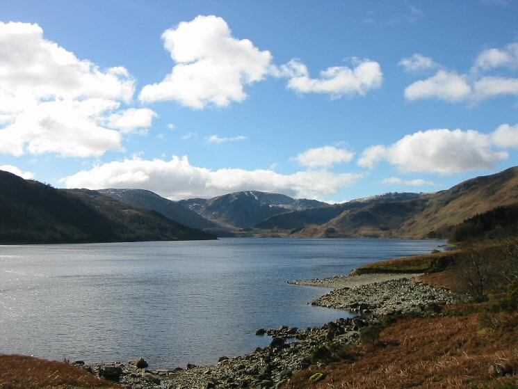 The view up Haweswater