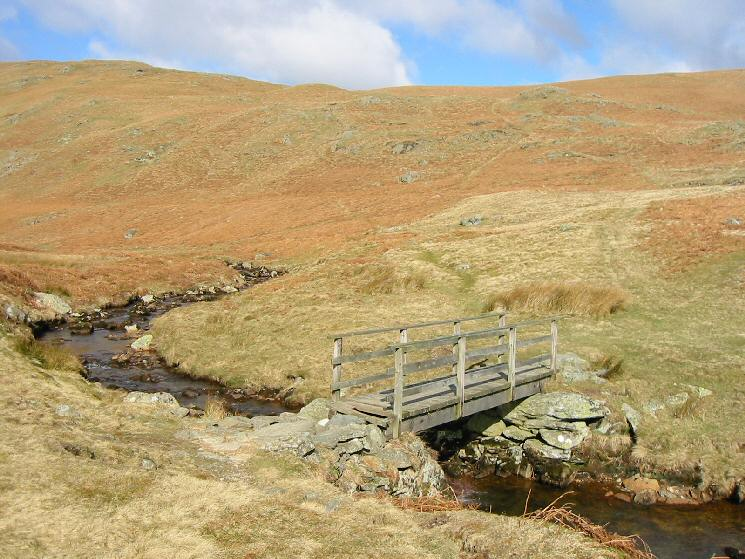 The footbridge across Measand Beck