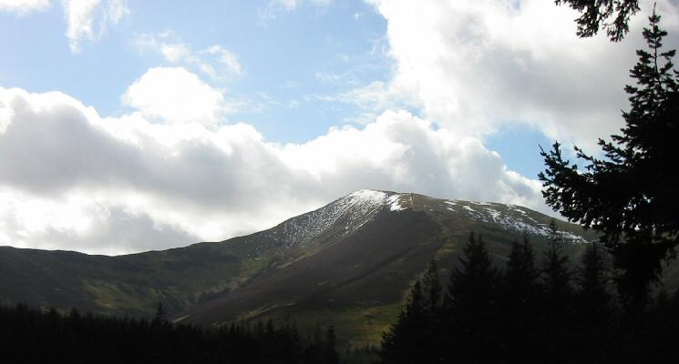 Grisedale Pike from near the Whinlatter Forest Visitor Centre