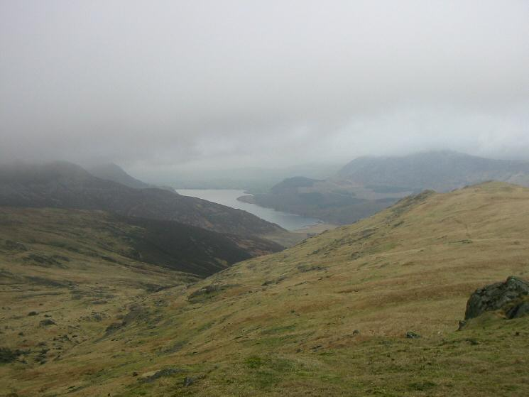 Ennerdale Water from the descent to Tewit How