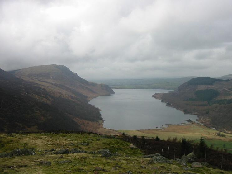 Crag Fell, Ennerdale Water and Bowness Knott from Lingmell
