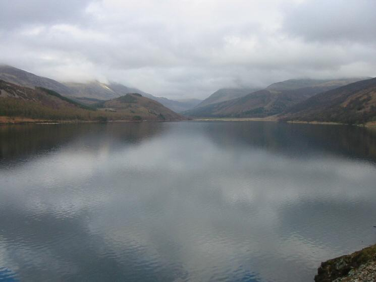 The view up Ennerdale Water