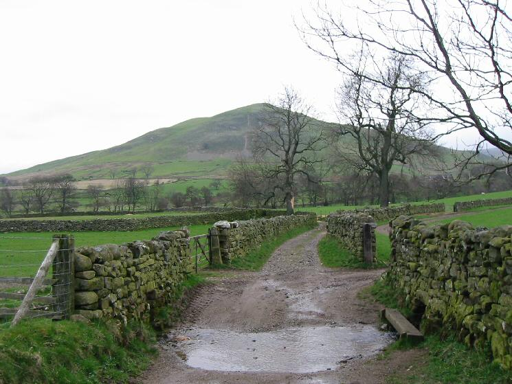 Dufton Pike from the track to High Scald Fell