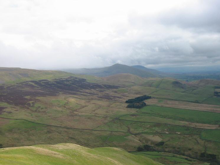 Looking south to Murton Pike