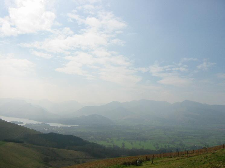 The northwestern fells from our ascent of Jenkin Hill