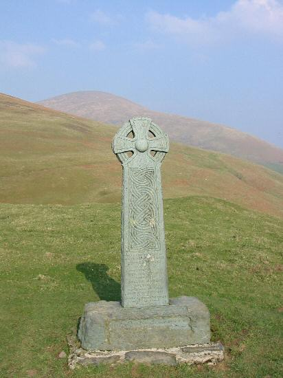 Hawell Monument with Blease Fell behind