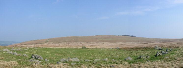 Heughscar Hill from The Cockpit on Moor Divock