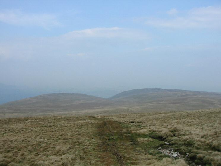 Bonscale Pike and Arthur's Pike as we descend back off Loadpot Hill
