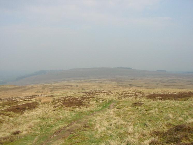 Heughscar Hill from the High Street Roman Road