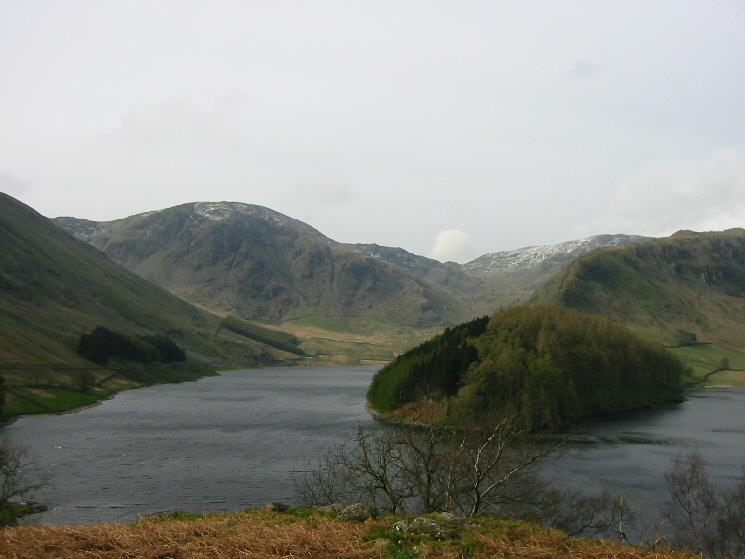 Harter Fell and The Rigg at the head of Haweswater