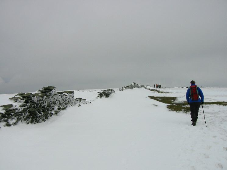Approaching High Street's summit