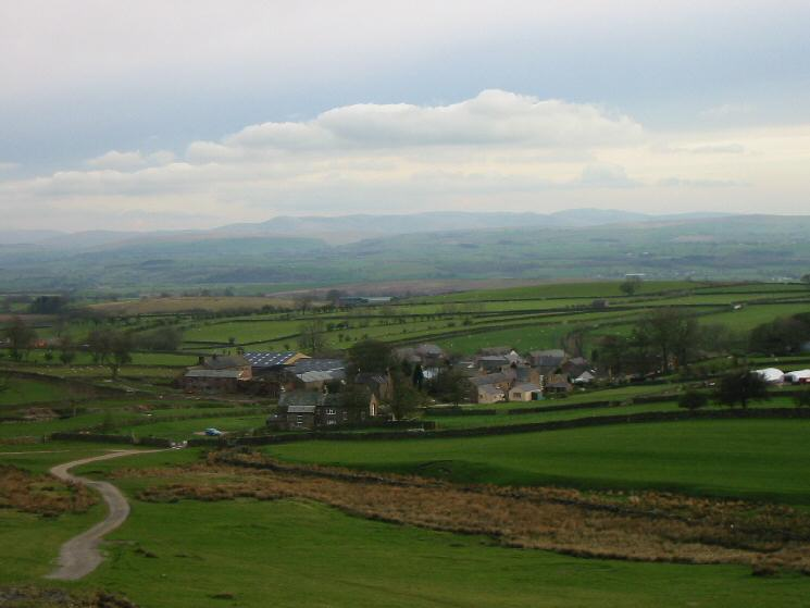 Looking back to Murton