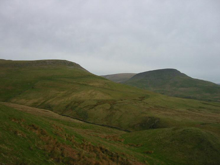 Delfekirk Scar and Roman Fell Scar to the south east