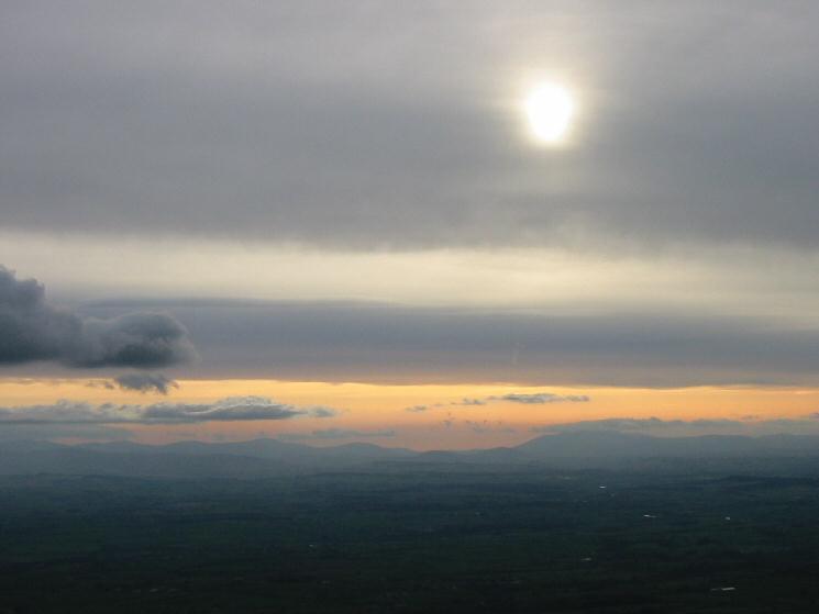 The Lakeland Fells from Murton Pike's summit