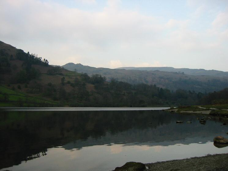 Low Pike and Rydal Water