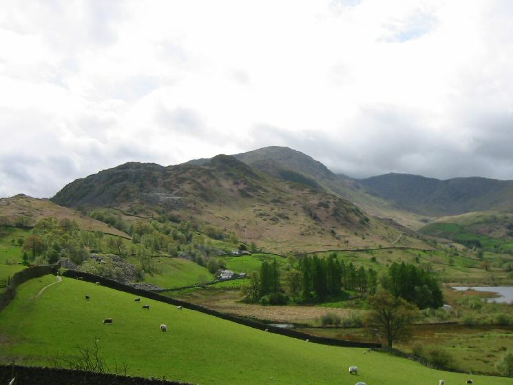 Wetherlam from Little Langdale