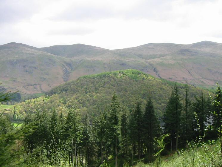 Looking over Great How to Watson's Dodd, Stybarrow Dodd, Raise and White Side