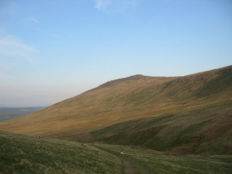 Looking across Carrock Beck to Carrock Fell