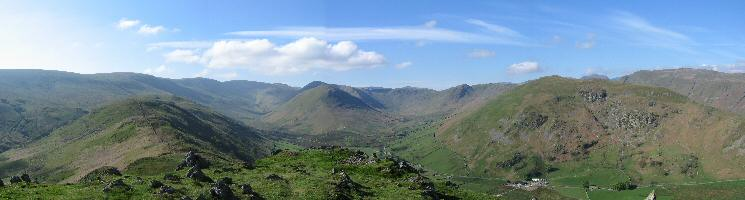Martindale panorama from Steel Knotts summit