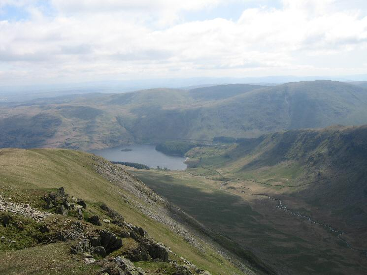 Haweswater and Riggindale from Kidsty Pike
