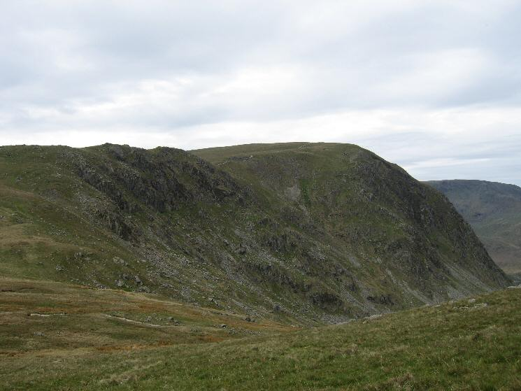 Harter Fell from the ascent of Branstree