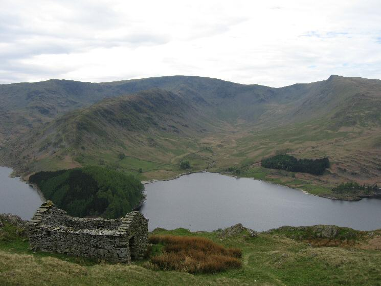 Rough Crag, High Street, Riggindale and Kidsty Pike from the Old Corpse Road