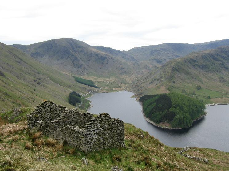 Harter Fell, Mardale Head and The Rigg
