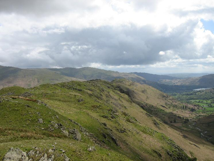 The Gibson Knott and Helm Crag ridge