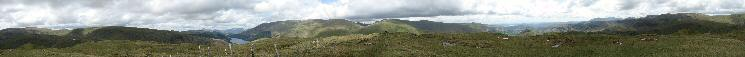 360 Panorama from Steel Fell's summit