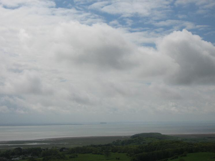 Morecambe Bay from Fell End