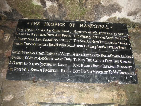 The Hospice of Hampsfell (Inside Hampsfell Hospice)