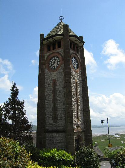 The Clock Tower, Grange-Over-Sands