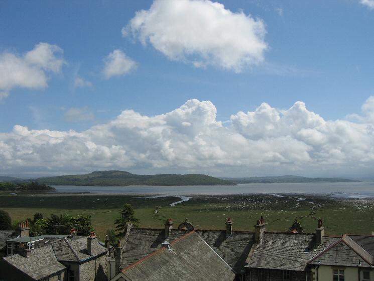 Arnside Knott from Grange-Over-Sands