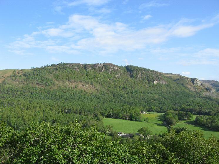 Walla Crag from Castle Head