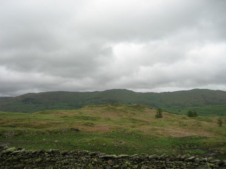 Hugill Fell (Wainwright Top) with Brunt Knott and Potter Fell behind