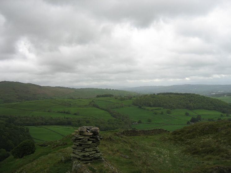 Hugill Fell summit cairn